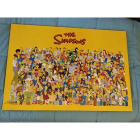 Cuadro Gigante Los Simpsons Espectacular