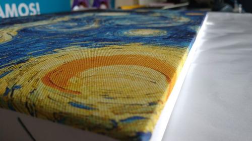 cuadro  grande 55x110cm impreso en tela artística canvas