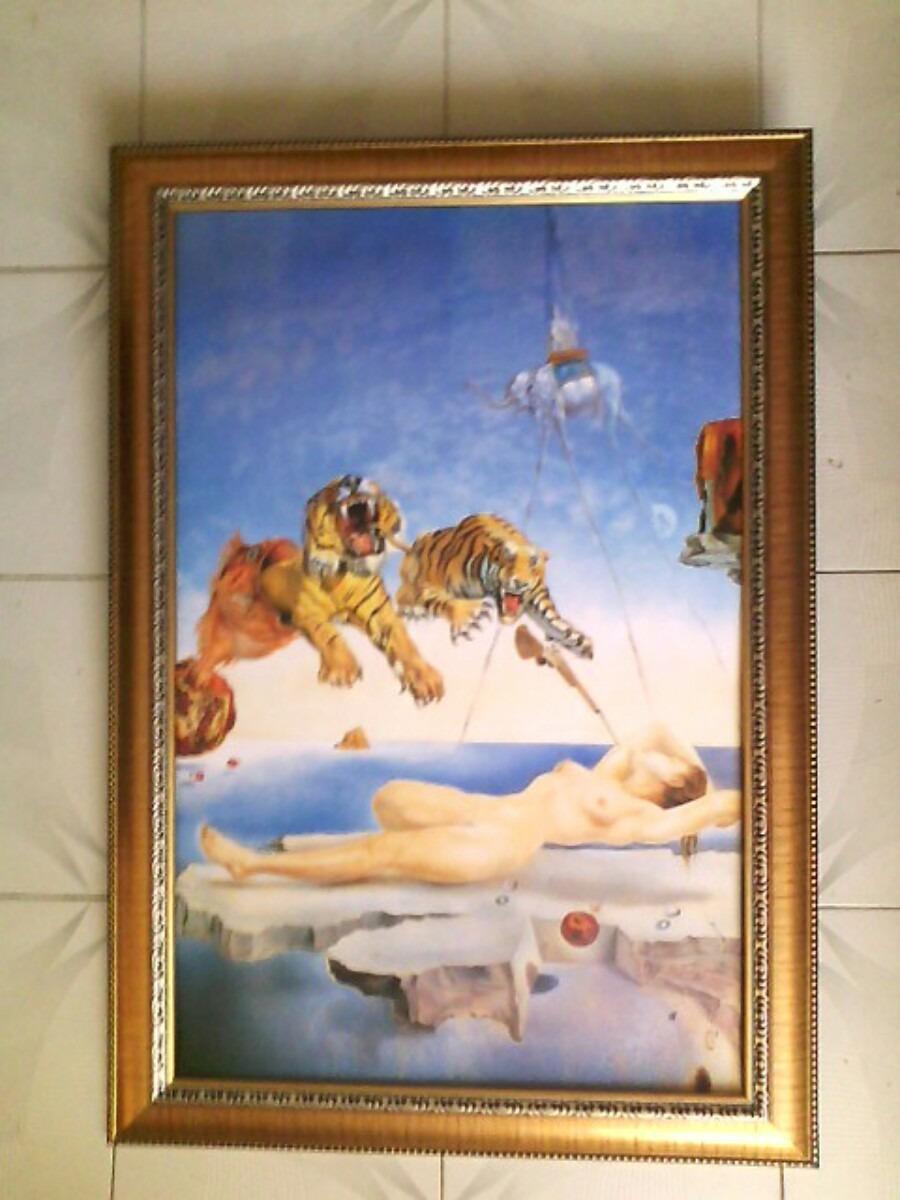 Cuadro Grande Marco Romano Dali Tigres O Virgen - $ 750.00 en ...