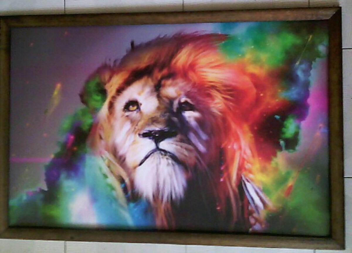 Cuadro grande nuevo leon indio en mercado libre for Fotos para cuadros grandes