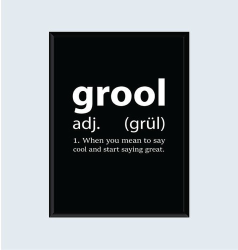 cuadro grool (30x40cm)