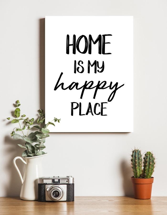Cuadro Home Sweet Home 30x40 Cm Cuadros Con Frases Frases Para El Hogar