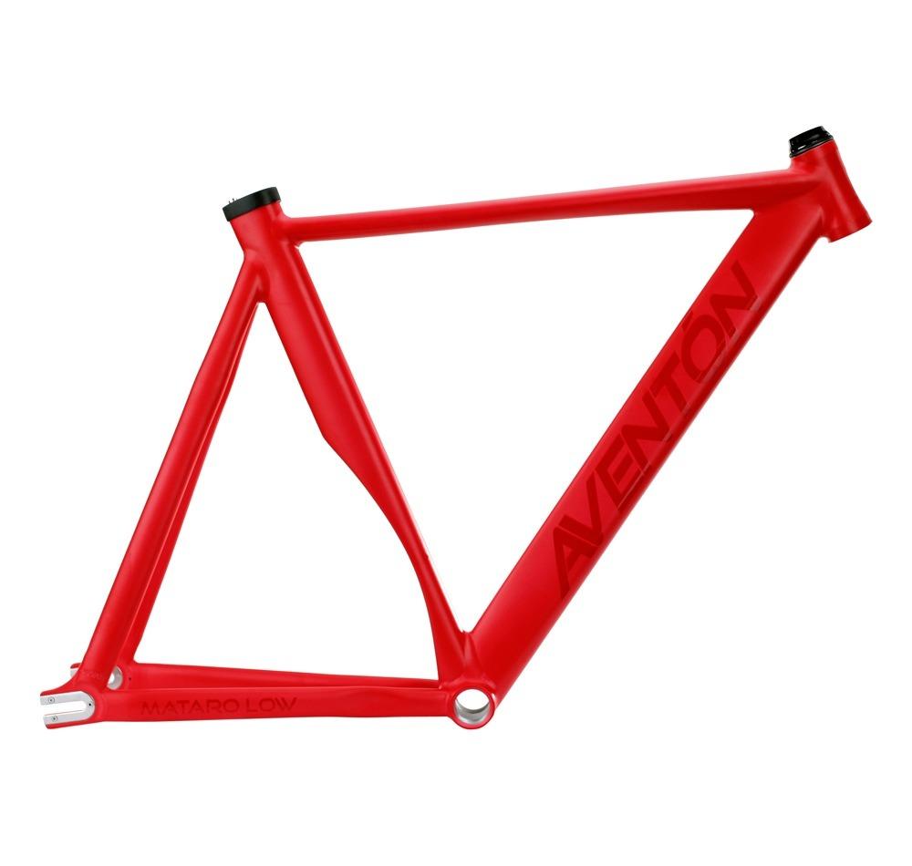 Cuadro + Horquilla Aventón Mataró Low Bicicleta Pista - $ 15.950,00 ...