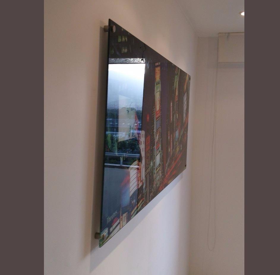 cuadro impreso sobre vidrio de 6mm 50x100cm 1