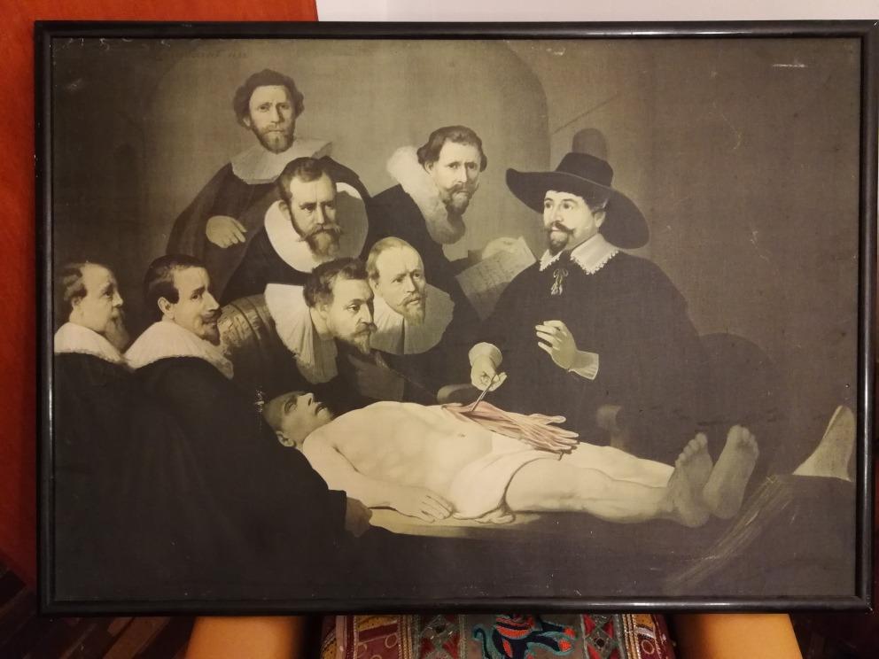 Cuadro: La Lección De Anatomía Del Dr Nicolaes Tulp - S/ 100,00 en ...