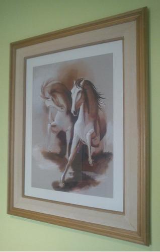 cuadro lamina de caballo - permuto