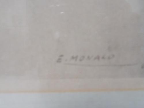 cuadro lámina e. monaco fundación tzedaká 101