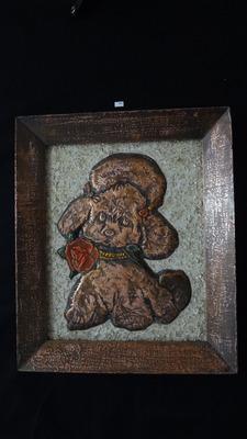 cuadro laminado en  cobre