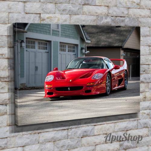 cuadro lienzo 60x40 auto deportivo ferrari 458 spider y más