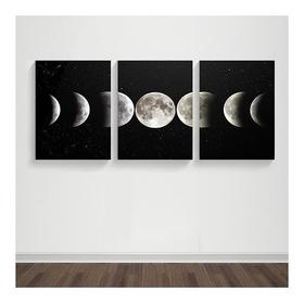 Cuadro Luna Tríptico 02 - Dreamart