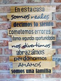 Frases En Madera Decoracion Adornos Cuadros Nuevo En