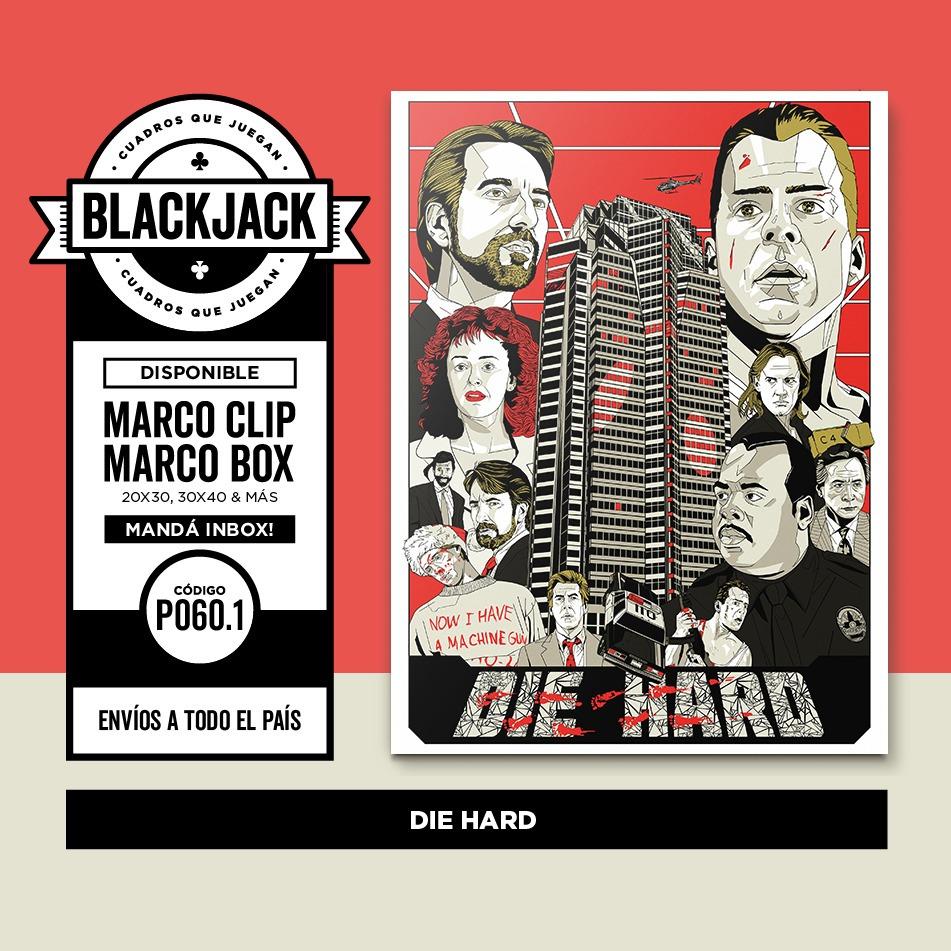 Cuadro Madera Relic 30x40 Duro De Matar Pelicula Cine Deco - $ 500 ...