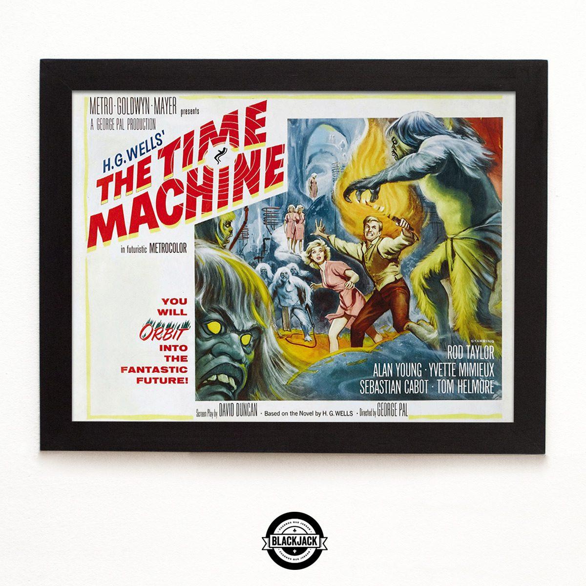 Cuadro Madera Relic 30x40 The Time Machine Pelicula Cine - $ 500,00 ...