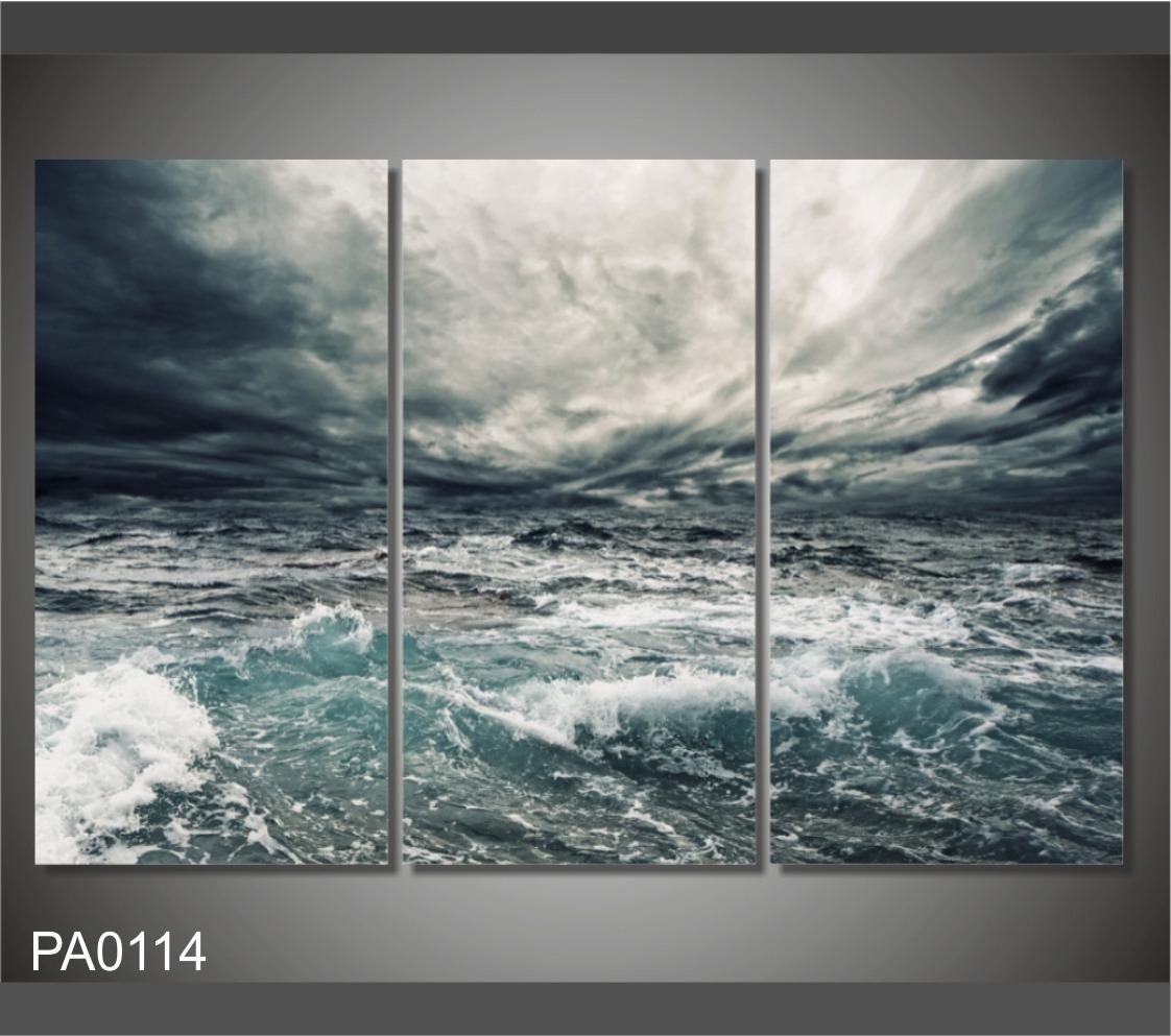 Cuadro Mar Tormenta Océano Paisaje 120x80cm - $ 1,550.00 en Mercado ...