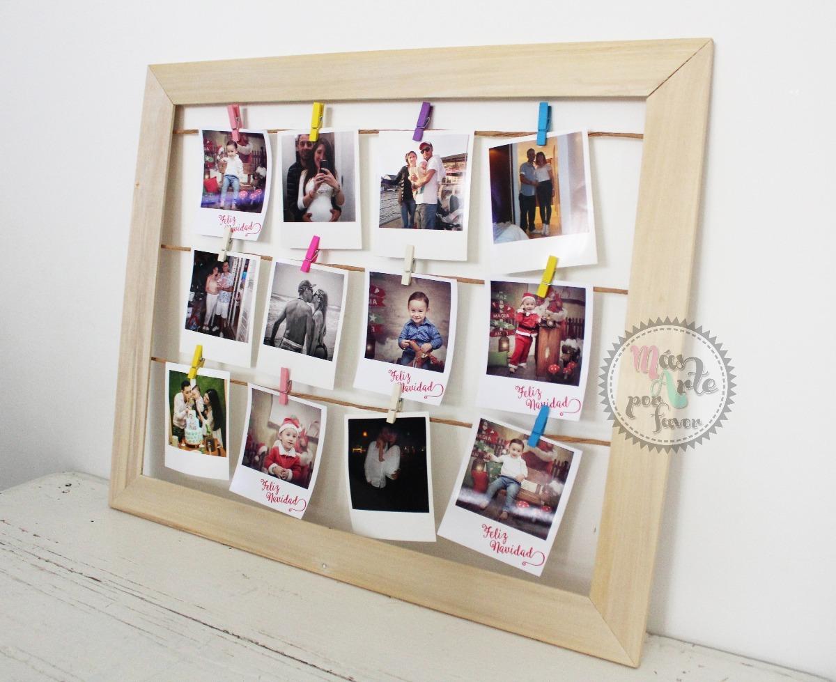 Cuadro Marco De Madera Para Foto Polaroid 40x50 Fabricantes - $ 210 ...