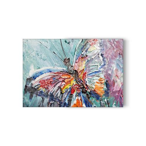 cuadro mariposa para sala - inlab muebles