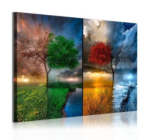 cuadro mediano  50 x 85cm impreso en tela artística canvas