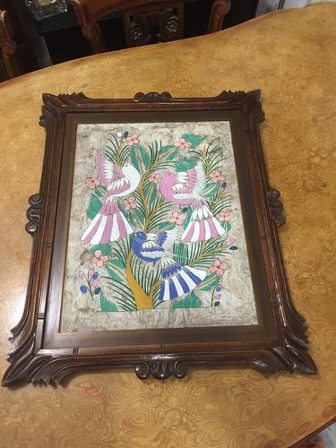 cuadro mexicano antiguo