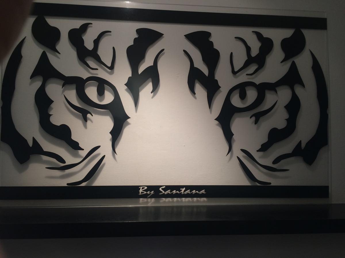 Cuadro minimalista mirada de tigre arte dise o moderno for Diseno de hogares a gas
