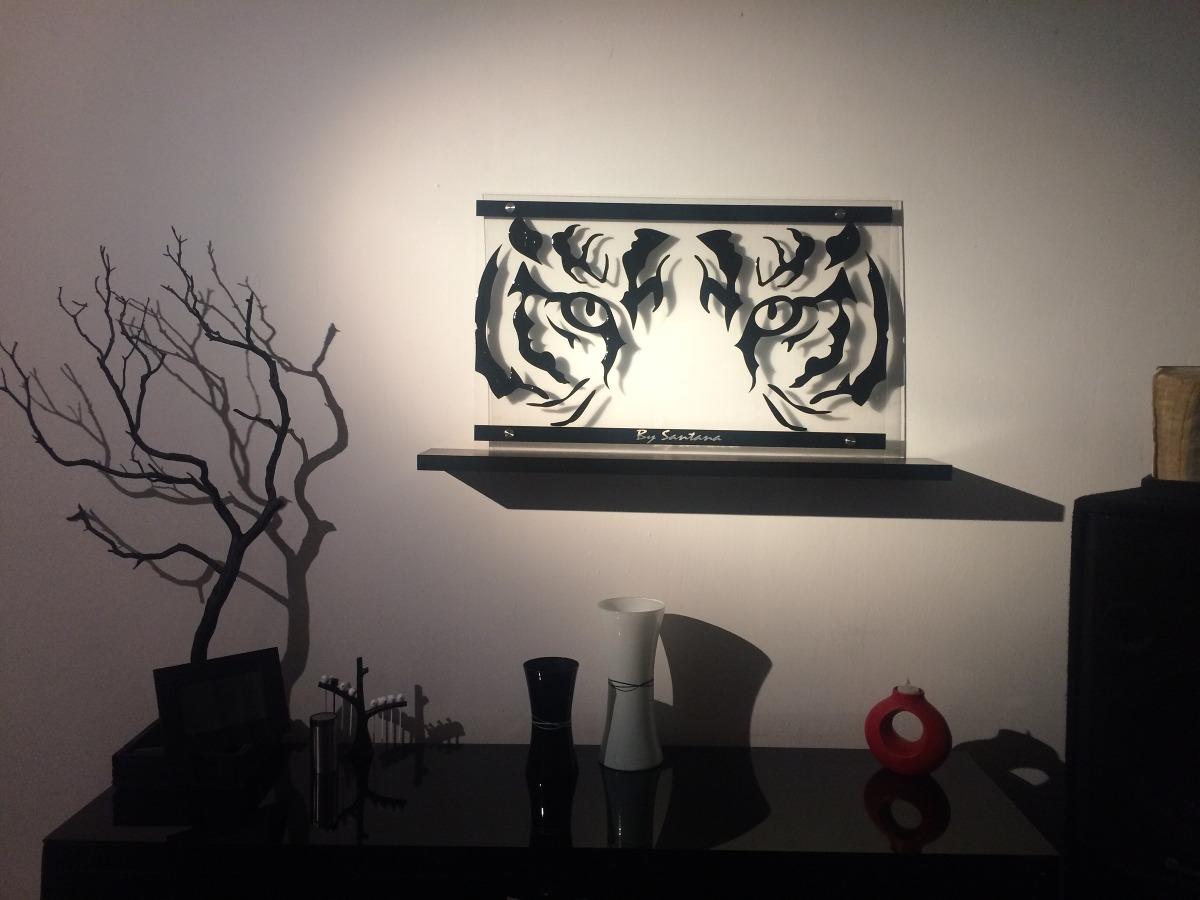 Cuadro minimalista mirada de tigre arte dise o moderno - Cuadros minimalistas modernos lo ultimo arte ...