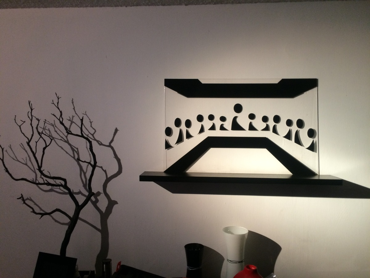 Cuadro minimalista ltima cena arte decoraci n hogar for Cuadros para comedor minimalista