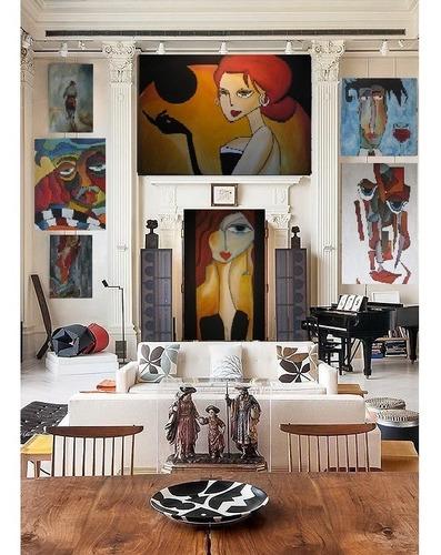 cuadro moderna y decorativa pintura