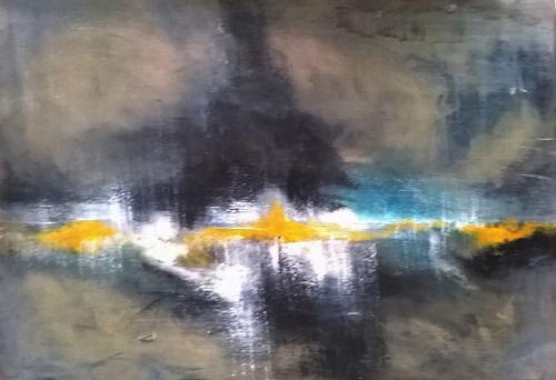 cuadro moderno abstracto acrilico oleo, hacemos a pedido