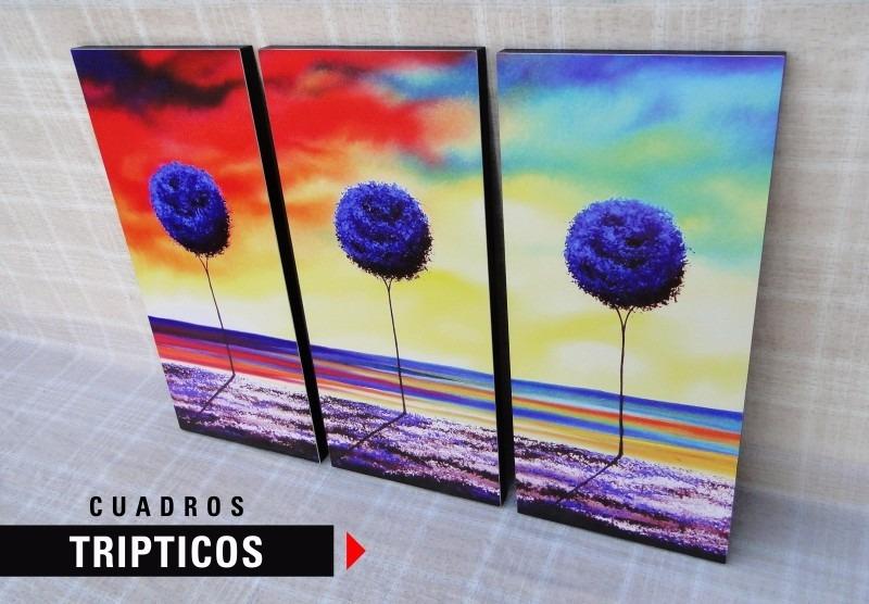 Tripticos Decoracion Perfect Zoom Triptico Cuadros De Mafalda With