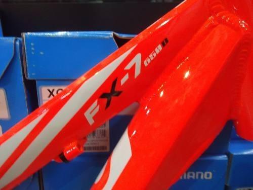 cuadro mtb aluminio rod 27.5 venzo fx-7 dirt disco v-brake
