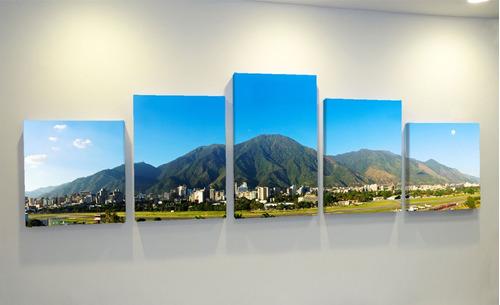 cuadro multipanel lienzo avila medidas 160 x 45 cm foto canv