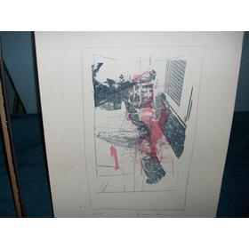 Cuadro Oferta X Hoy Serigrafía Firma Orig Luisa Richter 1991