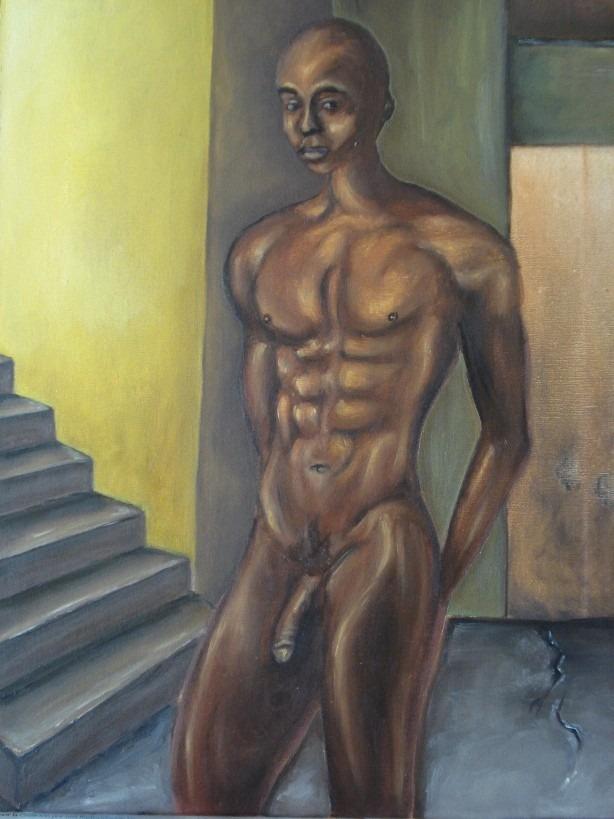 Hombre desnudo pic x