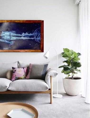 cuadro oleo ideal para decoración 100% hecho a mano