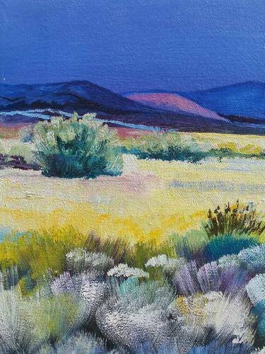 cuadro óleo paisaje eeuu