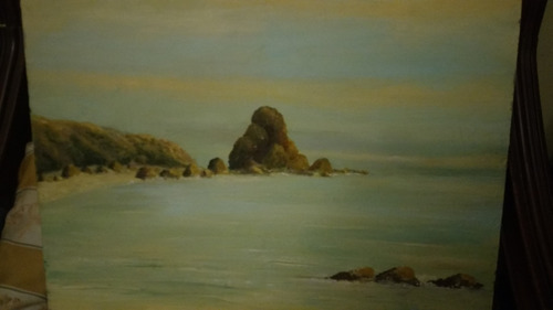 cuadro oleo pintura