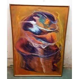 Cuadro Oleo Pintura Firmado A. Erman