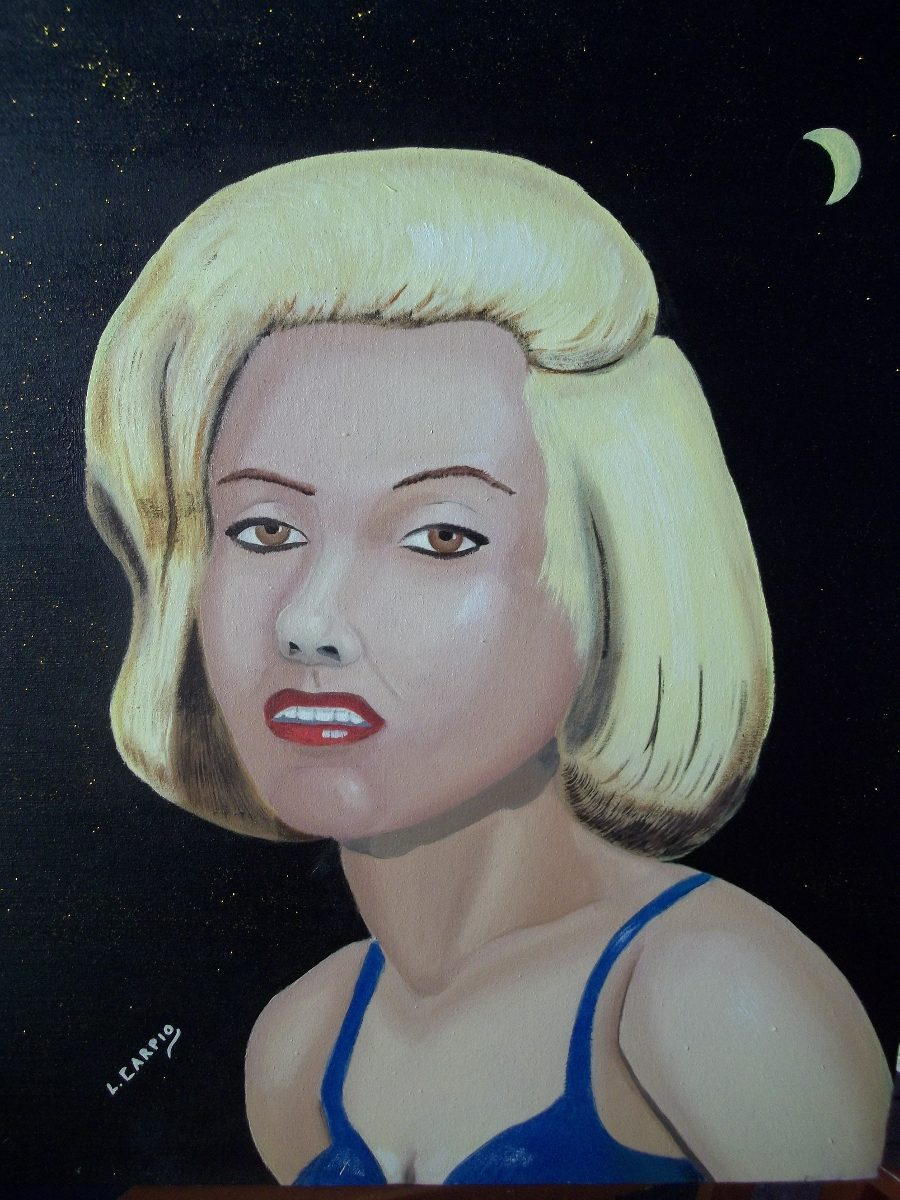 cuadro oleo retrato