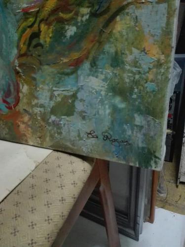 cuadro oleo sobre tela