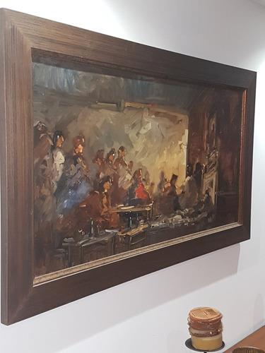 cuadro original catasse carlos tapia sepulveda obra arte