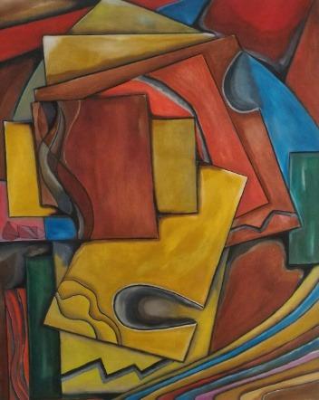 cuadro original pintado a mano al oleo