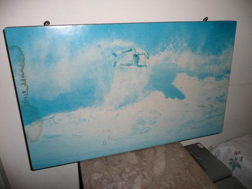 cuadro paisaje surf 76 cm x 46 cm