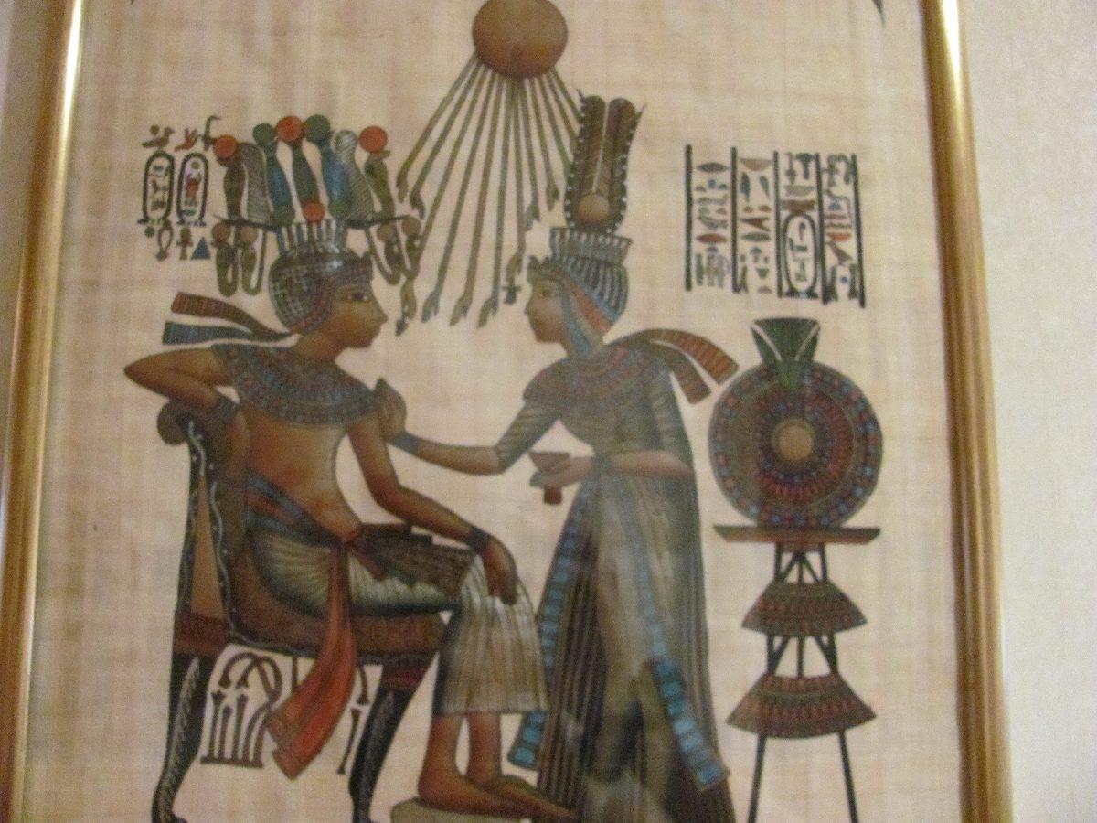 Dorable Marcos De Cuadros Papiro Modelo - Ideas de Arte Enmarcado ...