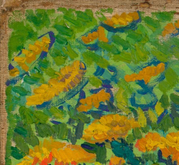Cuadro Para Decorar Pintura Van Gogh Los Lirios 76x100 Hd