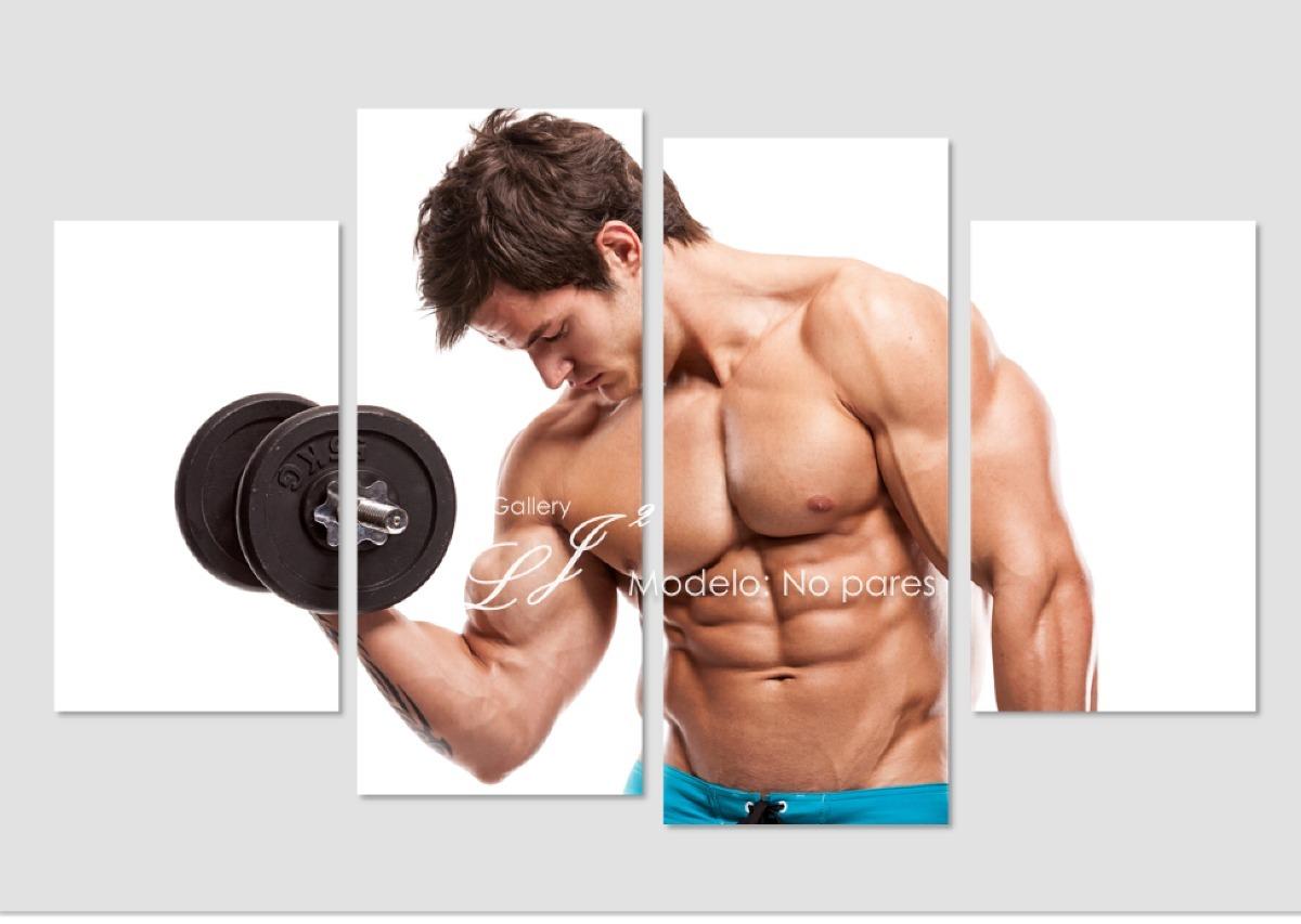 Cuadro Para Gym Entrenamiento Ejercicio Frase Motivacional