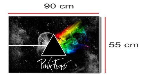 cuadro pink floyd impreso tela canvas moderno