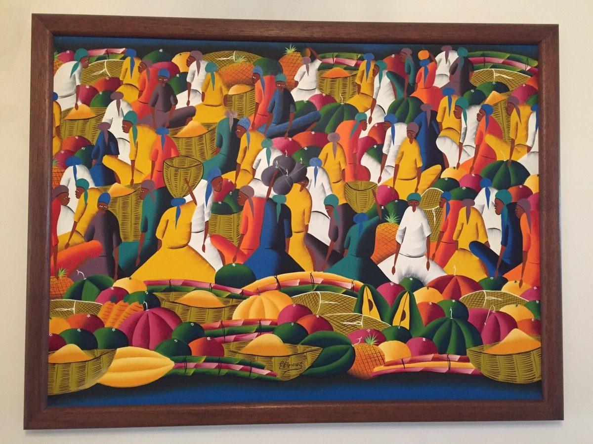Cuadro Pintura 80 X 105 Cm Oleo Sobre Tela Enmarcado - $ 130.000 en ...