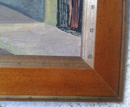 cuadro pintura ingenua