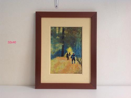 cuadro, pintura, óleo, arte, acrílico,