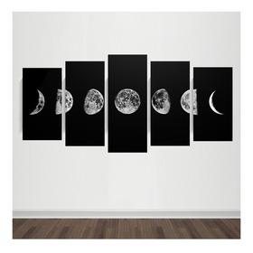 Cuadro Políptico Luna - Dreamart