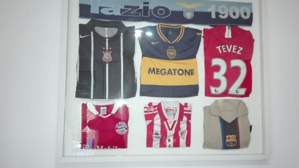 6eb13ff37c418 Cuadro Remeras De Fútbol Originales - Tevez -   2.900